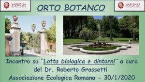 Lotta biologica e dintorni.......